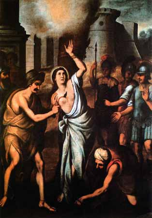 Image result for saint barbara MARTYRDOM